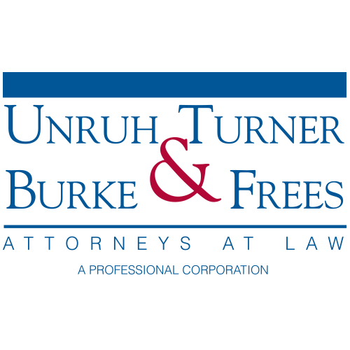 Unruh, turner, burke, frees attorneys at law logo